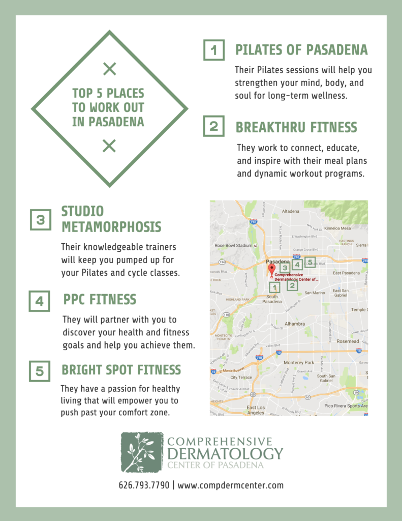 Top 5 Places to Work Out in Pasadena